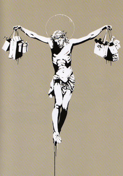 Shopping Bag Jesus: What Is Your Interpretation?